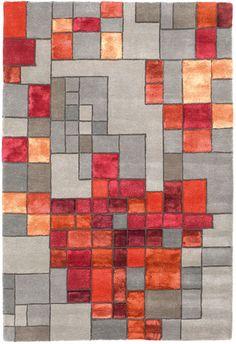 Wovenground | Modern Rugs | Pixels Rugs