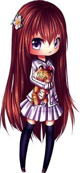 Chiye page doll [new chibi style] by Hyanna-Natsu on DeviantArt Anime Chibi, Kawaii Chibi, Cute Chibi, Anime Kawaii, Kawaii Cute, Kawaii Girl, Manga Anime, Anime Art, Kawaii Drawings