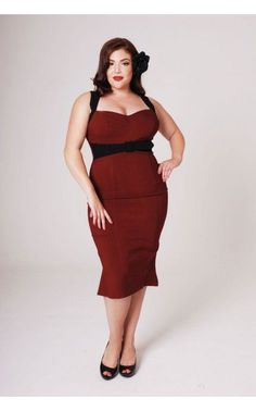 Plus size vintage style dresses can now easily be bought from any plus size store that houses products specifically for plus size persons.