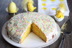 My Recipes, Sweet Recipes, Recipies, Something Sweet, Recipe Box, Vanilla Cake, Food And Drink, Easter, Sweets