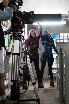 Descendants 2 Behind The Scenes #Descendants2 #SpaceBetween