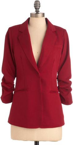 Love this: Career Path Blazer in Red @Lyst
