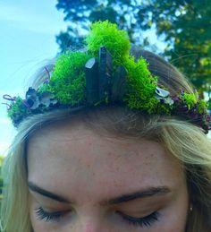 moss queen tiara by mistyfern on Etsy