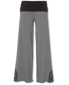 Organic Cotton Wide Leg Pants: Soul Flower Clothing
