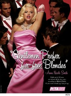 Anna Nicole-The only person I accept to impersonate Marilyn !
