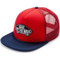 455771b1cda Vans Classic Patch Racing Red Trucker Hat Vans Hats