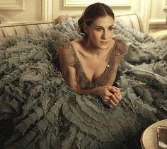 the dreamiest - versace couture via SATC