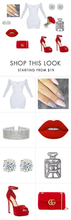 """""""Classy not Classy"""" by sneakerhead7 on Polyvore featuring Steve Madden, Lime Crime, Chanel, Jessica Simpson and Gucci"""
