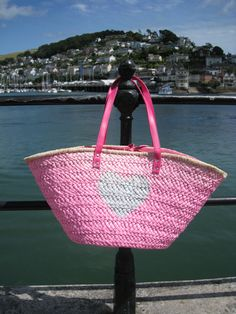Beach Basket for those summer beach days #ibiza #beach #basket