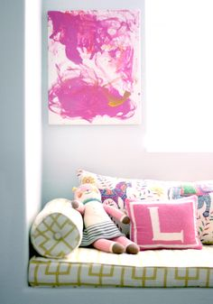 Displaying Kids' Art... Throughout the house