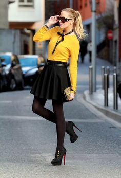 Black and yellow at its best