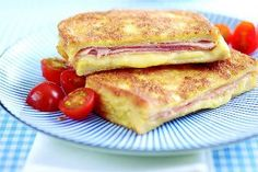 Try our delicious cheesy ham eggy bread recipe for a quick and tasty lunch. Cheap, quick and easy eggy bread is our kind of fast-food! Cheese On Toast, Ham And Cheese, Egg Recipes For Breakfast, Breakfast Dishes, Lunch Recipes, Cooking Recipes, Budget Recipes, Uk Recipes, Baby Recipes