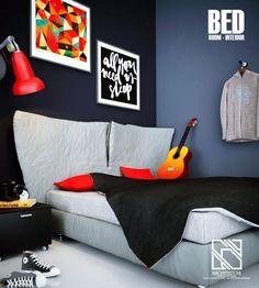 #Arsitek #DesainInterior #KamarTidur #Architect #InteriorDesign #Bedroom #Architecchi