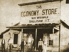 The Economy Store W.H. McDonald Sallisaw I.T. (Indian Territory)