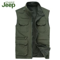 Outdoor Men's Vest with Pockets - Bing images