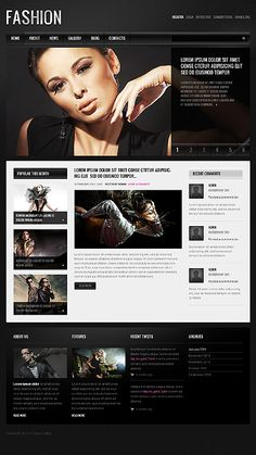 Joomleros! :: Tema: Fashion - TemplateMonster – 40008 – Joomla 2.5 (1/1) | Joomleros