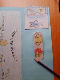 APRENDER ES DIVERTIDO 1º Y 2º: Las Islas Canarias en un lapbook.