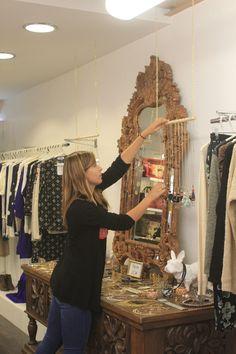 """""""Miroir mon beau miroir"""" - Rue de la Salie à Bayonne #bayonne #boutique #collection #mode #bazardefilles #interditauxhommes #ambiance #déco"""