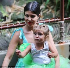 Kourtney's girl turns 3 while absent Scott Disick remains in Florida #dailymail