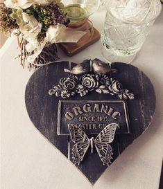 Tin Can Crafts, Diy Home Crafts, Crafts To Do, Decor Crafts, Art Decor, Decoupage, Wood Pallet Art, Iron Orchid Designs, Sunflower Wallpaper