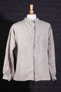 1895 pattern French army linen chore jacket (bourgeron)