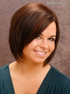 15 Best Bob Cut Hairstyles for Round Faces - 13 #BobHaircuts