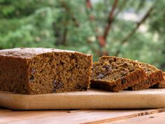 soaked pumpkin (or pear?)  bread