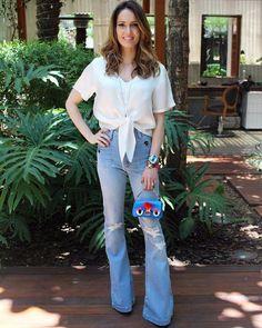 """""""#aboutlastday usando a flare que ganhei da minha amiga @silviabraz no #amigosecretofhits  @zattinibrasil Como essa calça veste bem!  #amei…"""""""