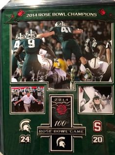 One of the many prizes up for grabs on Saturday! #MSU