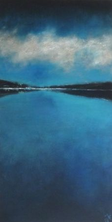 rivages ~ acrylic ~ by jaya becuwe