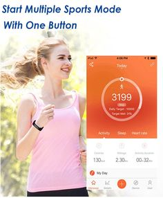 Looking for the best Fitness Trackers for Running? Long battery life and stylish design combined with improving app software make the Iotton HR the best all-around fitness tracker for Android and iOS people. Best Fitness Tracker, Waterproof Fitness Tracker, Calorie Counter, Fitness Activities, Smart Bracelet, Heart Rate Monitor, Ios, Software, Android