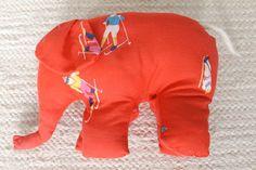 pehmolelu retrokangas norsu