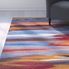 Akuna Hand-Tufted Sunset Area Rug