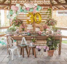 Aloha Party, 30th Party, 90th Birthday Parties, Baby Boy 1st Birthday, 20th Birthday, Bday Girl, 30th Birthday Decorations, 30th Wedding Anniversary, Flamingo Birthday