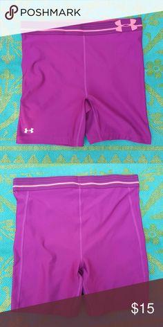 Purple under armour shorts EUC Under Armour Shorts