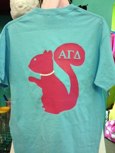 Alpha gamma delta shirt with pearls an by PersonalizedSunshine, $24.99