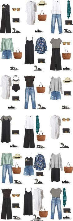 What to Wear in Madrid Spain 18 Outfit Options Packing Light List #packinglist #packinglight #travellight #travel #livelovesara