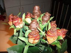 Bacon roses !!