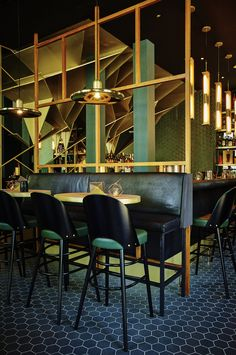Too Many Agencies - Bar Burbure Antwerp << design - cocktail - bar - branding - lighting - ambiance - interior >>