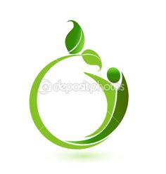 Health nature logo vector — Stock Illustration #53411049