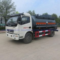 China Chemical tanker truck for sale