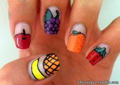 fruit nail designs - Google Search