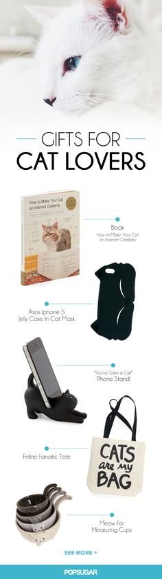 Cat-inspired gifts for your cat-loving gals.