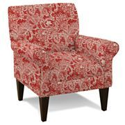 Cade Print Accent Chair