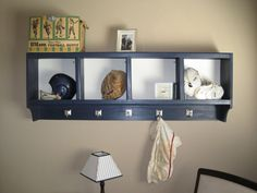 Brandons Nursery, We created a vintage sports themed nursery for our first born son.  Used old photos of grandpas as art on the walls.  Old sports equipment from grandpa was used also., My husband made the cubby for our vintage sports items, we still need a few more things!   , Nurseries Design