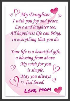 Happy valentines day to my daughter quotes images 2017 daughters find this pin and more on daughter hija by dolly diaz m4hsunfo