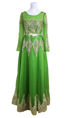 Green Sequin Pearls Appliques Arabic Evening Dresses for Women Corlink Formal Gowns -- Check this awesome product by going to the link at the image. (This is an affiliate link) Formal Dresses For Women, Formal Gowns, Appliques, Evening Dresses, Sequins, Fashion Outfits, Pearls, Awesome, Link