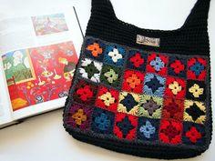 VMSomⒶ KOPPA: Haun matisse tulokset.  Bag inspired by Matisse.