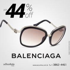 Óculos de Sol Balenciaga com até 44% de desconto  Compre pelo site em até 10x Sem Juros e Frete Grátis nas compras acima de R$400,00 reais. 👉 www.aoculista.com.br/BALENCIAGA  #aoculista #balenciaga #glasses #sunglasses #eyeglasses #oculos