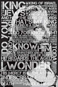 """""""That's My King!"""" Christian Poster"""
